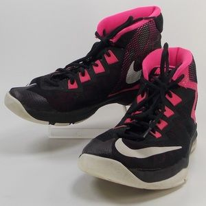 Nike Air Devosion Girls Size 6.5Y High Top Shoes